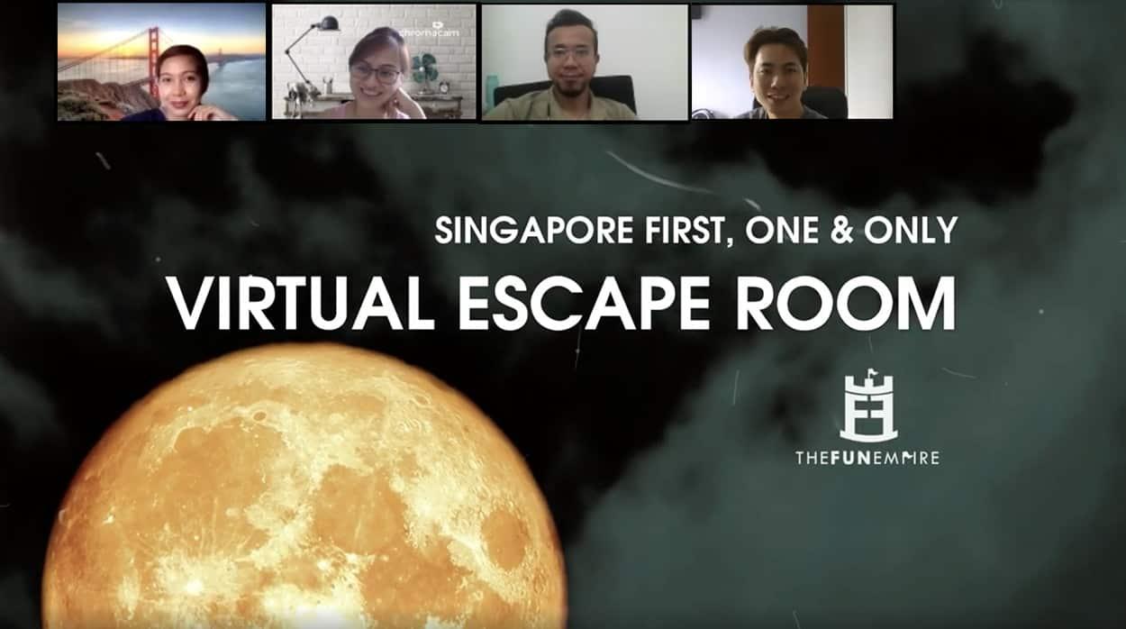 Virtual Escape Room Video Thumbnail