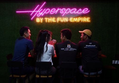 Location - Hyperspace, Online Escape Room
