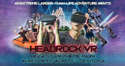 virtual reality singapore - HeadRock VR