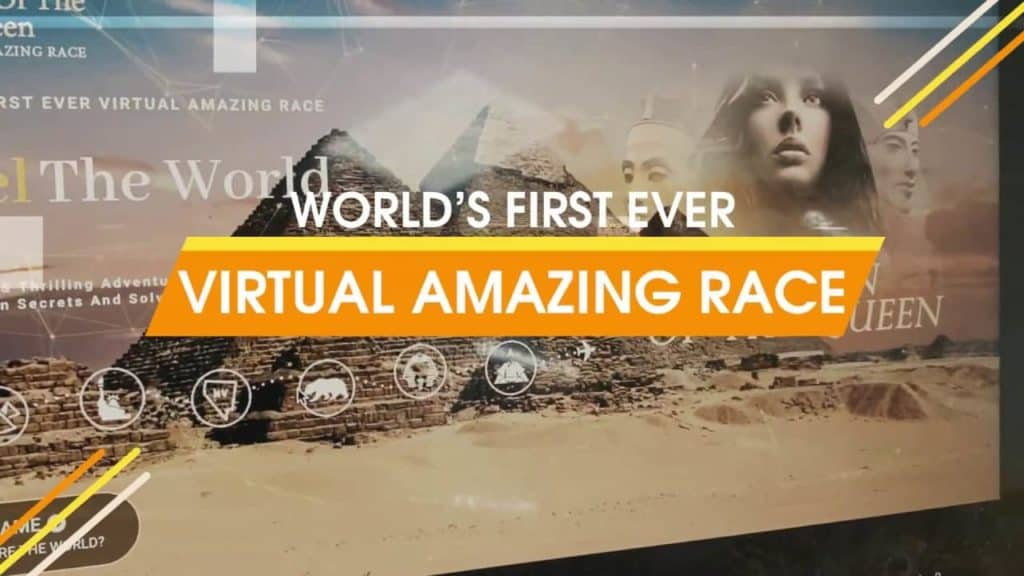 party package - virtual amazing race
