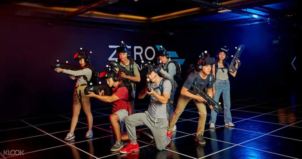 virtual reality singapore - Zero Latency Singapore